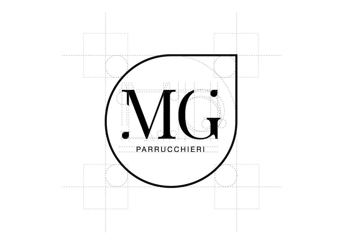MG parrucchieri - Corporate identity