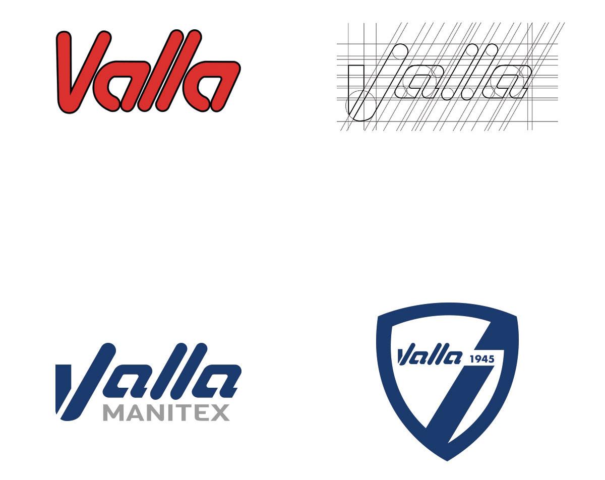 MANITEX VALLA - Restyling logo